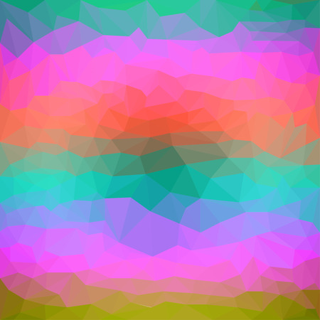 separable: Bright colored abstract polygonal background with a mix of bright multi-colored triangular for use in design Illustration