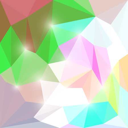separable: Abstract different colored polygonal triangular background with glaring lightsfor use in design