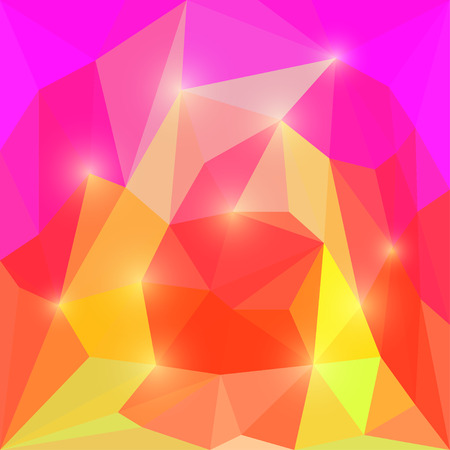 separable: Abstract simulating the flame polygonal triangular background with soft lights for use in design Illustration