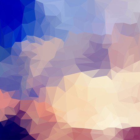 variegated: abstract triangle blended polygonal geometric background for use in design