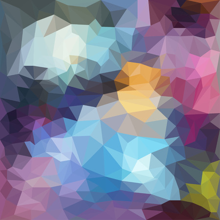abstract triangle motley polygonal geometric background for use in design