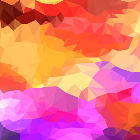 chipping: abstract triangle bright blended polygonal geometric background for use in design Illustration