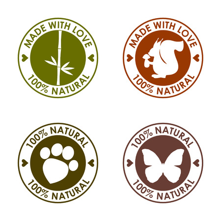 stigma: round stamp set for use in design