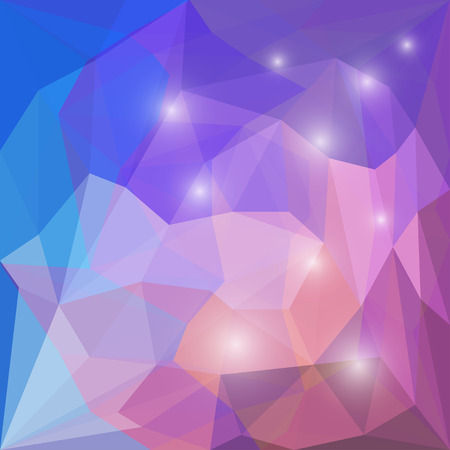 chipping: Abstract bright purple and lilac colored polygonal geometric triangular background for use in design for card, invitation, poster, banner, placard or billboard cover