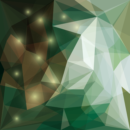 chipping: Abstract bright colored polygonal triangular background with glaring lights for use in design for card, invitation, poster, banner, placard or billboard cover