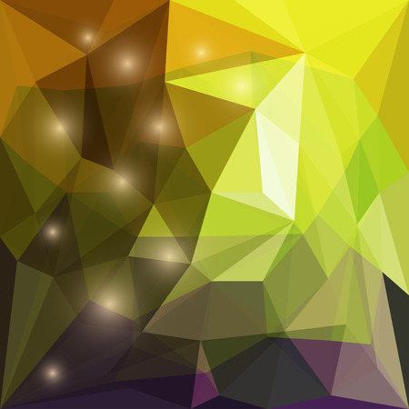 separable: Abstract bright colored polygonal triangular background with glaring lights for use in design for card, invitation, poster, banner, placard or billboard cover