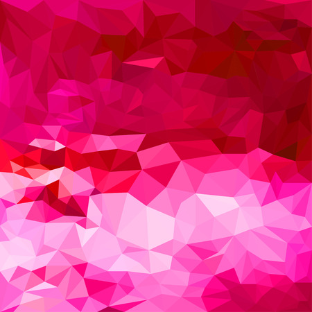 spectral: Abstract bright spectral red colored polygonal triangular background for use in design for card, invitation, poster, banner, placard or billboard cover