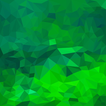 jaded: Abstract bright green colored polygonal triangular background for use in design for card, invitation, poster, banner, placard or billboard cover