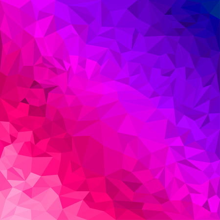 jaded: Abstract bright purple and scarlet colored polygonal triangular background for use in design for card, invitation, poster, banner, placard or billboard cover