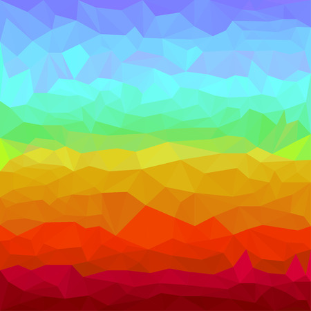 spectral: Abstract bright rainbow spectral colored polygonal triangular background for use in design for card, invitation, poster, banner, placard or billboard cover