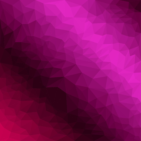 jaded: Abstract bright purple colored polygonal triangular background for use in design for card, invitation, poster, banner, placard or billboard cover