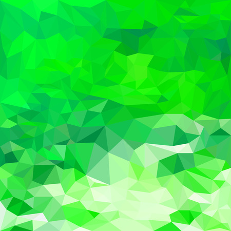 crumbling: Abstract bright fresh spring green colored polygonal triangular background for use in design for card, invitation, poster, banner, placard or billboard cover