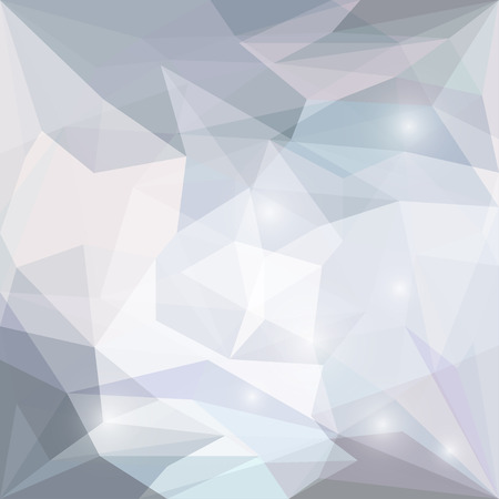 glaring: Abstract soft colored polygonal vector triangular geometric background with glaring lights for use in design for card, invitation, poster, banner, placard or billboard cover Illustration