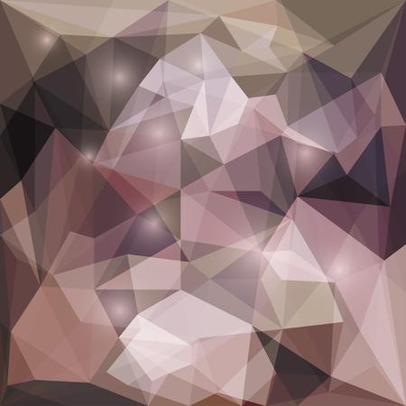 glaring: Abstract dark blended polygonal vector triangular geometric background with glaring lights for use in design for card, invitation, poster, banner, placard or billboard cover