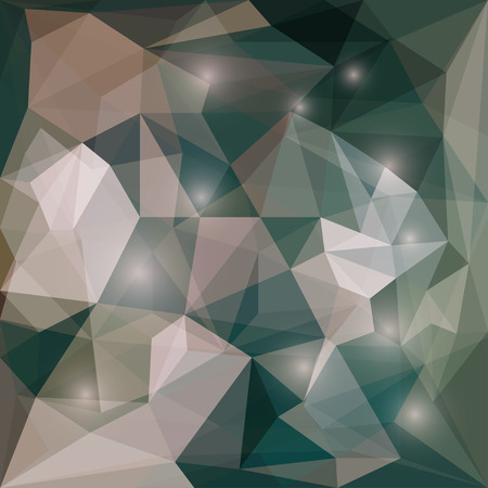 jaded: Abstract dark colored polygonal vector triangular geometric background with glaring lights for use in design for card, invitation, poster, banner, placard or billboard cover Illustration
