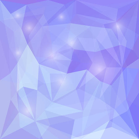 jaded: Abstract purple polygonal vector triangular geometric background with glaring lights for use in design for card, invitation, poster, banner, placard or billboard cover Illustration