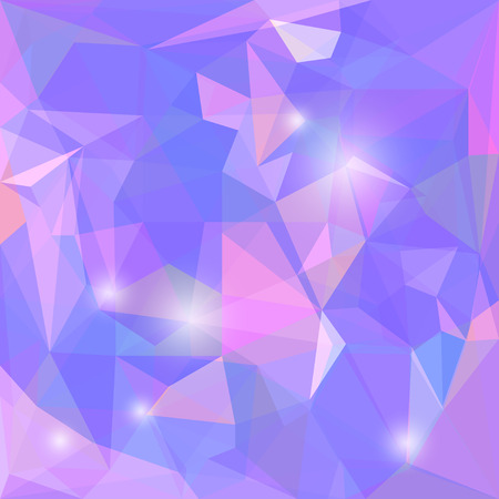 jaded: Abstract polygonal vector triangular geometric background with glaring lights for use in design for card, invitation, poster, banner, placard or billboard cover