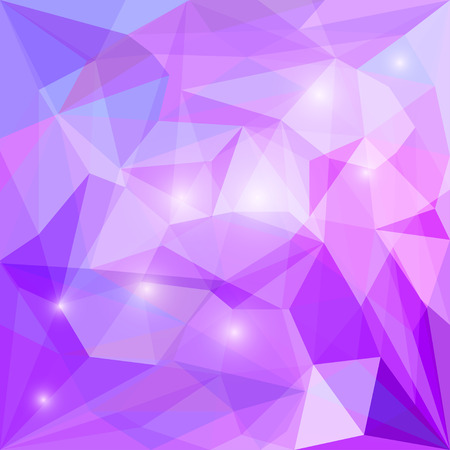 glaring: Abstract polygonal vector triangular geometric background with glaring lights for use in design for card, invitation, poster, banner, placard or billboard cover