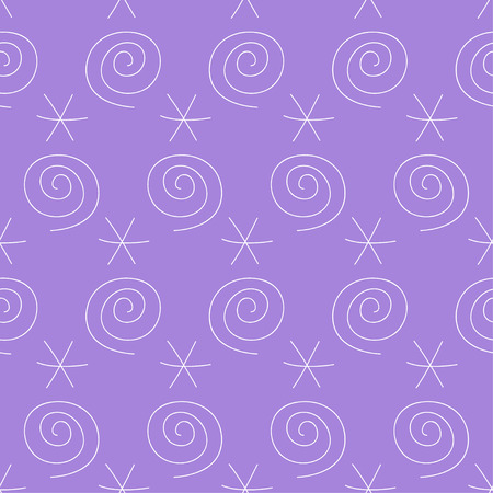 improvisation: handmade doodle seamless simple pattern background for use in design