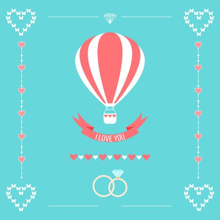 mujer enamorada: patrón de boda romántica de fondo Vectores