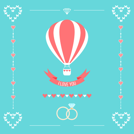 happy valentines: wedding romantic pattern background
