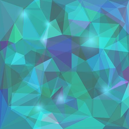 dissimilar: Abstract geometric poilygonal background Illustration