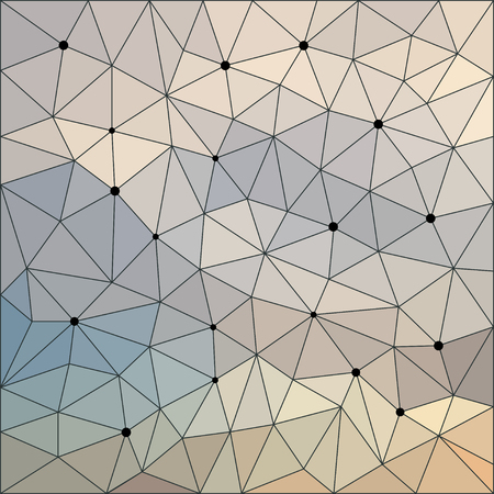 Abstract geometric background. Sky colored angular low poly background for use in design. Triangle polygonal abstract cover.