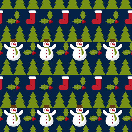 desember: Winter holiday seamless pattern background. new year and happy christmas time theme.