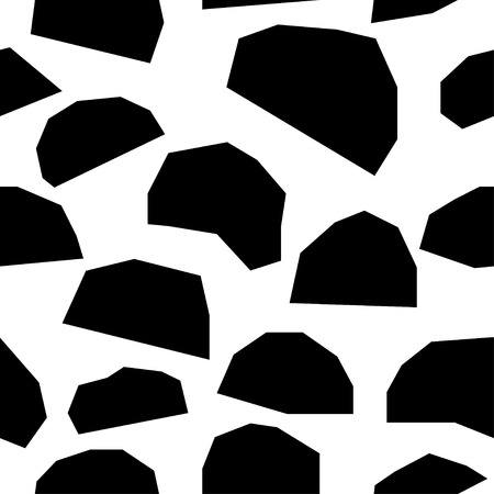 Handmade contrast seamless pattern. Illustration