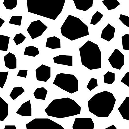 Handmade contrast seamless pattern.