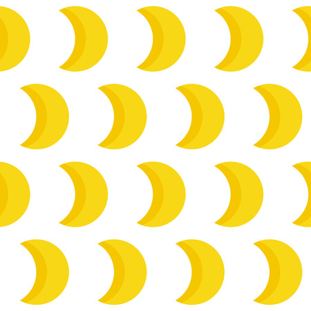 Abstract handmade moon seamless pattern background. Hand drawn cover for design gift card, birthday wallpaper, album, scrapbook, holiday wrapping paper, bag print, t shirt, baby nappy etc.
