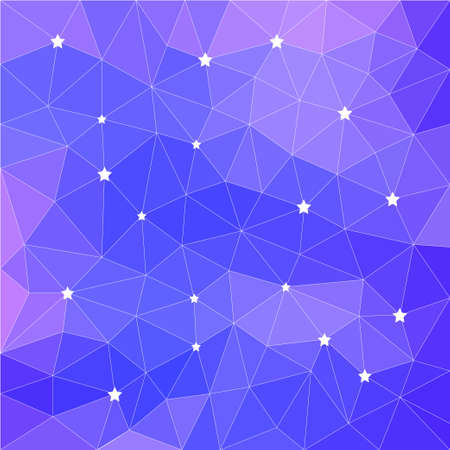 Abstract polygonal background. Vector triangle low poly pattern for use in design card, invitation, poster, t shirt, silk neckerchief, printing on textile, fabric, garment, bag print etc.