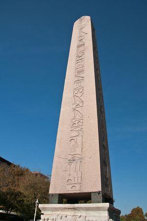 Egyptian Obelisk at Hippodrome at Istanbul Stock Photo - 5799909