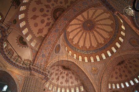 Suleymaniye Mosque in Istnabul, inside