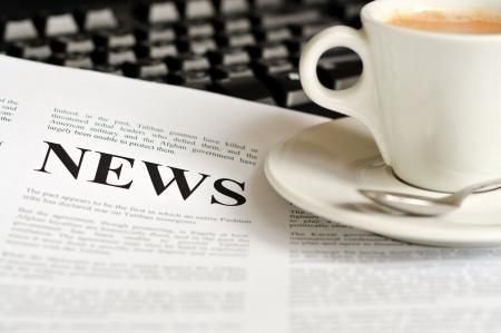 periodicos: Idea abstracta para leer la noticia