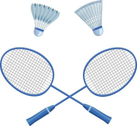 Badminton set for use in design
