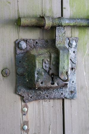 doorlock: Antique grunge doorlock