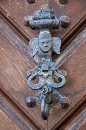 doorhandle: Antique doorhandle