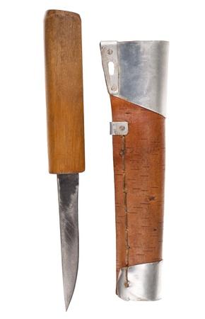scabbard: Hunters knife