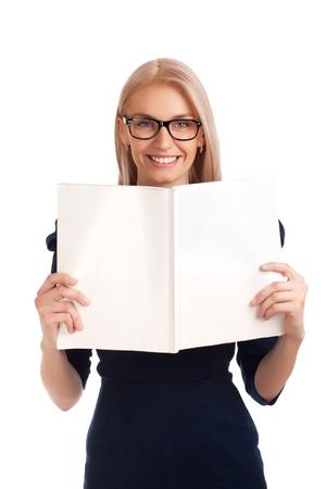female magazine: Young woman reading womens magazine