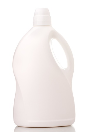 Laundry detergent bottle  Standard-Bild