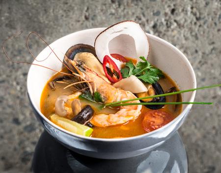 Tom Yum Goong thai soup