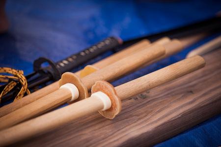 Samrai trainen zwaarden