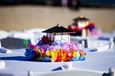Table lantern Stock Photo