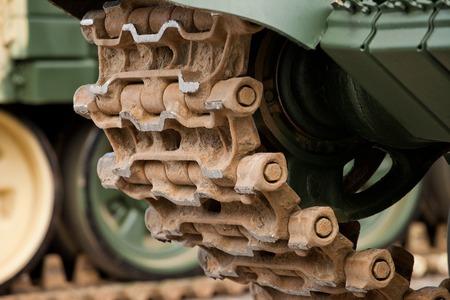 Partes de tanques militares