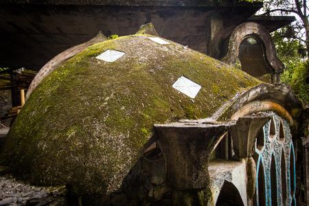 Xilitla ruins in Mexico Archivio Fotografico