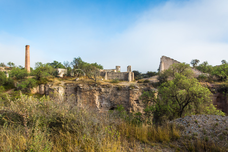 Pozos de Mineral miners town in Mexico