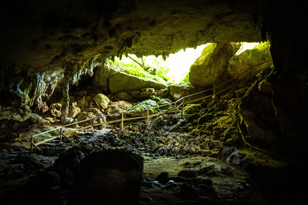 Cueva Ventana cave in Puerto Rico local attraction