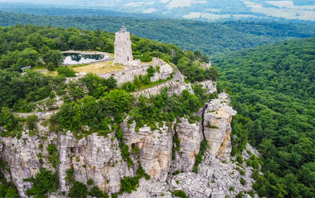 Mohonk Preserve Sky Top Tower Aerial Scenic view Reklamní fotografie