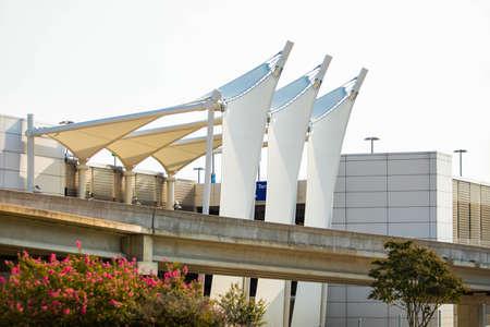 Exterior design of Dallas International Airport in Chicago